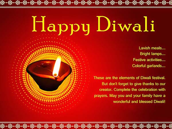 THE MEANING OF DIWALI