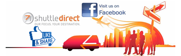 facebook; shuttle services; airport shuttle facebook; like us